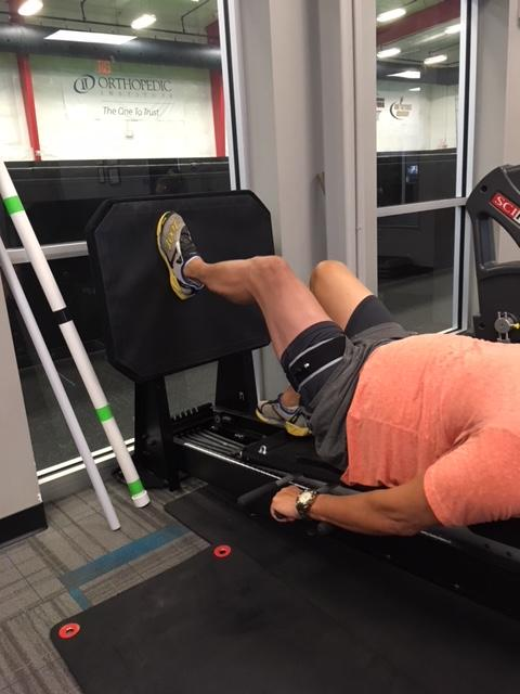 Blood Flow Restriction Training at Orthopedic Institute