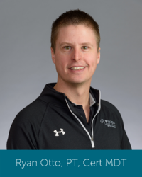 Orthopedic Institute physical therapist and spine therapist Ryan Otto.