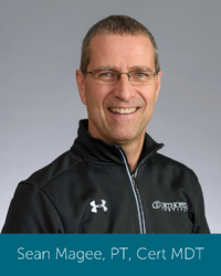 Orthopedic Institute physical therapist and spine therapist Sean Magee.