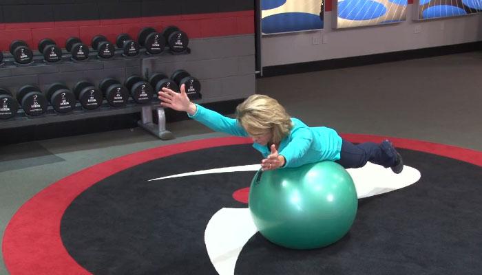 Y-Exercise-Ball-Stretch-Female-Golfers