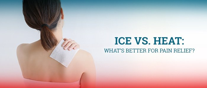 Ice vs. Heat - What's Better for Pain Relief - Orthopedic Institute